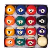 25mm / 38mm Billard Balls Bambini Biliardo Biliardo Piscina Palle da tavolo Set Polyester Resina Piccola Cue Set completo Billiard1