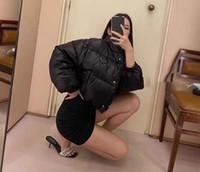 2020 Yeni Moda Marka Bayan Lüks Klasik Aşağı Ceket Tasarımcı Parka Mont Kalın Ceket Katı Fermuar Kazak Desen 2020110501T