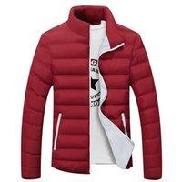 2020 uomini giacche Moda inverno vendita calda Parka casuale capispalla per uomo cappotti slim Qualità frangivento Warm Giacche Uomo 5XL 6XL Y1112