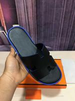Hermes slippers Moda H Chinelos Progettista Lusso Homens Genuíno Sandálias de Couro Indoor Homens Ao Ar Livre Deslize o Painel de Couro Crocodilo 38 Sapatos de Color