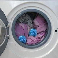 2pcs 재사용 가능한 세탁 도구 세척 공을 세척 공 욕실 액세서리 기계 cleaner1