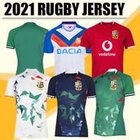 Nuovo 2021 Leoni Britannici e Irish Lions Rugby Camicia internazionale League Jersey Home National Team Lions Leons Maglie di Rugby