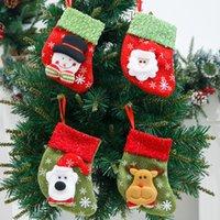 26 Designs regalo calzino di Natale Merry Christmas Stockings bagagli Bambini Comodino Candy Borse casa Albero di Natale del partito della casa Decor calzino KKA2020