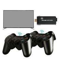 EMX-L41 U8 4K ألعاب الفيديو التلفزيون عصا نظام لينكس الرجعية الكلاسيكية ألعاب 64 بت مع 2.4G تحكم لاسلكي إخراج HDTV للاعبين المزدوج هدية