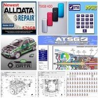 2020 ferramenta de diagnóstico quente mais novo Alldata 10,53 Auto Repair macio-ware atsg oficina Vivid em 750GB HDD USB3.0