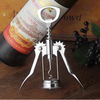 Bar accesssory kutu özel logo Yemek Mutfak açacağı Şarap Bira Şişe Açacağı Paslanmaz çelik Kanat Tirbuşon üzüm