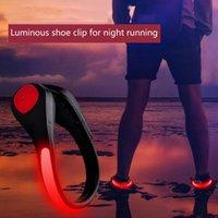 LED مضيئة أحذية كليب ضوء الجدة الإضاءة الرياضية الجري السلامة تحذير العاكس أضواء اللمعان للدراجات ركوب الدراجات