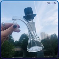 Smoking Bongs 3 Inches Glass Ash Catcher 14mm Male to 18mm Female Hookahs Filter Holder With Bowl Piece for oil rig bubbler