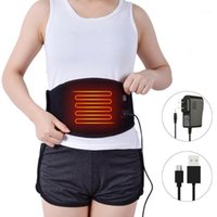 Waist Heating Pad Portable Heating Waist Belt Far Infrared M...