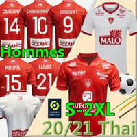 20 21 مايوه دي القدم بريست ستاد 29 كرة القدم الفانيلة الصفحة الرئيسية الثالثة 2020 202 2021 Diallo Charbonnier Lasne Cardona Berraud Bain Football Shirt