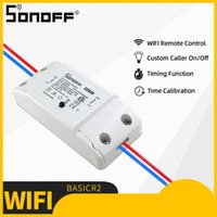 Mise à jour Sonoff base R2 WiFi Smart Switch Wireless Module DIY à distance ON / OFF Timing pour Smart Home Automation Works avec Alexa