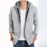2019 الفراء داخل سميكة الخريف الشتاء السترات الدافئة هوديس مكلفة الرجال عارضة 5 اللون سميكة حار بيع sweatshirt1