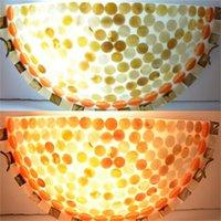 ICOCO Высокое Качество Современная природа Оболочка Промывная Уничтожитель Настенный Свет Света Освещение Освещение Лампы Оптовая продажа Продвижение