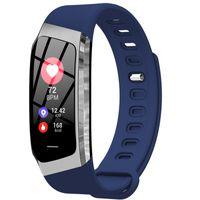 Smart Band Tension artérielle Montre mince bracelet intelligent avec fréquence cardiaque moniteur de sommeil Fitness Tracker pour Xiaomi Huaweit