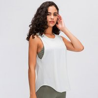 2020 Running Workouts Clothes Open Back Yoga Tank Tops Stretch Sexy Blouse Gym Tank Back Mesh Patchwork Sports Vest