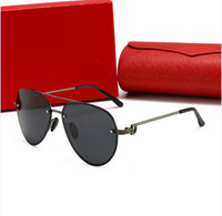 2020 New Men's Polarized Mens Sun Óculos Designer Sunglasses Luxo Óculos de Sol Marca para Mens Mulher Óculos com Caixa