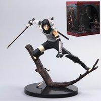 19 cm Naruto Figure Uchiha Itachi Action Figure Anime Naruto Figure Koleksiyon PVC Model Oyuncaklar Çocuklar için T200824
