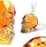 Cristal Crystal Crâne Head Bouteille Vodka Voodka Victère Bouteille de Whiskey Verre Verre Verre Verre Verre Verre Eau Jlnqv Carshop2006