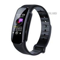 Digital Voice Recorder 1080P HD Slim mini grande schermo OLED Registrazione Reporter Smart Wristband Band Braccialetto