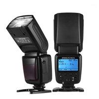 Cámara inalámbrica universal Flash Light Cámara Speedlite GN33 LCD con Mini Soporte para Pentax DSLR1