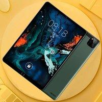 Tablet PC 2021 Global versione 10 pollici Quad Core 6G + 128 GB ROM Schermo HD temperato Wifi GPS NetFilx Google Paly1