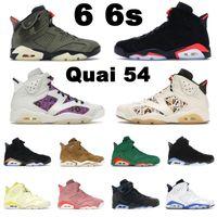 retro 6 6 6s Jumpman chaussures de basket-ball Sail Marron Noir Infrarouge 23 Blanc UNC Hare Chameleon hommes femmes Blé formateurs baskets de sport en plein air