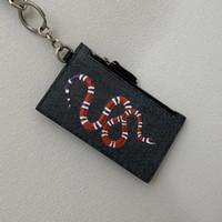 Top Quality Luxurys Designers Key Wallet Mulheres Quadrado de Couro Real Luxurys Keychain Carteira de Couro Real Bolsa Cartão Cartao Mens com caixa
