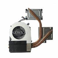 Pastiglie di raffreddamento per laptop Genuine per satellite L855 CPU Fan Radiatore Fan Radiator HeatSink PSKACE-01J00CFFR V000270020 Full Test1