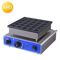 Ticari 25 adet Mini Krep Makinesi Poffertjes Izgara Hollanda Waffle Maker Elektrikli Pan Kek Makinesi Baker 110 V 220 V CE Onaylı1