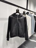 2020 HIVER NOUVEAU GRAND MENS DESIGNES Veste en cuir véritable de style de luxe ~ Vestes de taille chinoise ~ Designer Vestes de haute qualité pour hommes