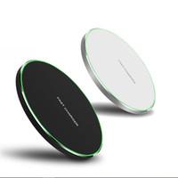 10W Fast Wireless-Ladegerät für iPhone 11 Pro XS MAX XR x 8 PLUS USB QI-Ladepolster für Samsung S10 S9 S8 S7 Edge Note 10 mit Kleinkasten