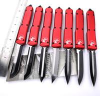 2021 HW77 Moda Katlanır Bıçak Klasik Mikro Teknoloji A5 Kırmızı A07 Dişli Ejderha Açık Aracı Kamp EDC Araçları Survival Ekipmanları