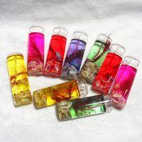 Beliebte Umgebung Bunte Muscheln Gelee Kristall Wachs Transparent Glas Kerze DIY Dekorieren Geburtstagsfeiern Hochzeit Bankett W95955