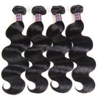 Ishow 8A visón ola brasileño ola virgin humano extensiones de cabello humano mayor al por mayor paquetes de tejido húmedo y ondulado color natural para mujeres todas las edades 8-28 pulgadas