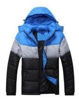 NUEVO 2019 Moda Venta Caliente Nuevos Diseño Men Down Jacket Chaqueta Hombre Invierno Outdoor Abrigos al aire libre Tamaño S-4XL