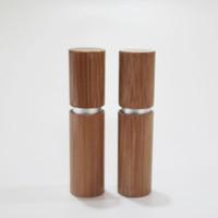 4G Vuoto Bamboo Rossetto Tubo Lip Gloss Tubo Riempimento Riempimento Tubi Balsami Lip Balsamo Confezione cosmetica Personalizzazione Materiale Personalizzazione Vendita calda