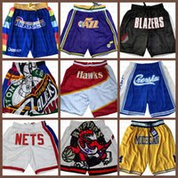 Atlanta.Shorts de basquete de falcão PhoenixSóisApenas Don SeattleSupersônica.Shorts de bolso memphis.Grizzlies.Novo
