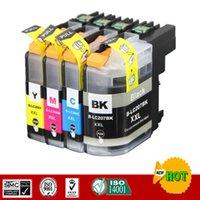 Borter LC207 LC205 카트리지 MFC-J4320DW MFC-J4420DW MFC-J4620DW 등을위한 잉크 카트리지