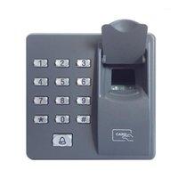 Controle de Acesso digital Controle Standalone KeyPad Dedo Scanner Código Biométrico Chave Eletrônica Bloqueio de Porta RFID Reader Para Indoor Usage1