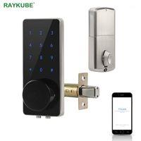 Bloqueio Bluetooth Deadbolt Bloqueio de Porta Digital Entrada Eletrônica Entrada Toque Teclado Toque Inteligente Home Fácil Substituição Gateway G21