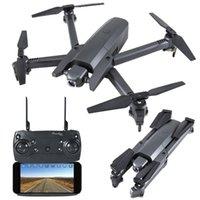 GW106 RC بدون طيار مع كاميرا 720P WIFI FPV الارتفاد عقد التطبيق التحكم GPS قابلة للطي RC كوادكوبتر بدون طيار للمبتدئين مع 3 بطارية