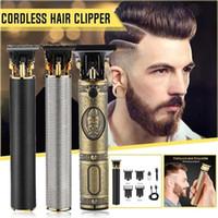 أعلى بيع الشعر المتقلب حلاقة حلاقة قابلة للشحن الشعر المقص اللاسلكي آلة قطع الشعر اللحية الانتهازي 0 ملليمتر الحلاقة الرجال حافظات