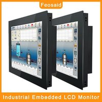 """Monitore FEOAG 21.5inch 19 """"Industrial Computer Monitor 23.6"""" Platte VGA Input Automation Equipment Displays1"""