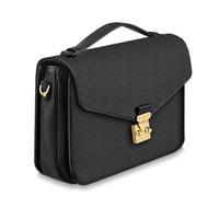 2021CLASSIC POCHETTE Metis 핸드백 여성 가죽 숄더 가방 Luxurys 디자이너 메신저 가방