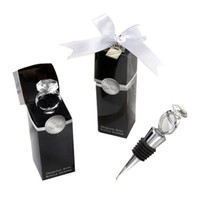 Crystal Diamond Ring Wine Stoppers Wedding Guest Gift Diamon...