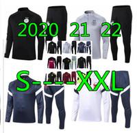 2021 22 Erkek Eşofman Futbol Eğitim Takım 20 21 22 Cezayir Futbol Eşofman Survetement Ayak Equipe de France Chandal Futbol