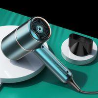 Saç kurutma makinesi negatif ionik saç bakımı profesyonel hızlı kuru salon kurutucu difüzör sabit sıcak soğuk rüzgar saç kurutma makinesi