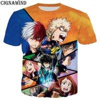 Yeni Gelmesi Anime Hayır Kahraman Benim Kahraman Academia Erkekler Kadınlar 3D Baskı Harajuku Stil T Gömlek / Hoodies / Tişörtü / Yelek / Yaz Tops1