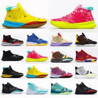 2021 Yeni Noel Satılık Basketbol Ayakkabı Sneaker VII 7 Ön Isı EP Adam Basketbol Ayakkabıları Boyutu 40-46