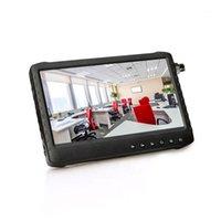 Taşınabilir 1080 P 1024 * 600 7 inç IPS Ekran CCTV Güvenlik Kamera Test Cihazı Monitör AHD / TVI / CVI / CVBS1 destekler1